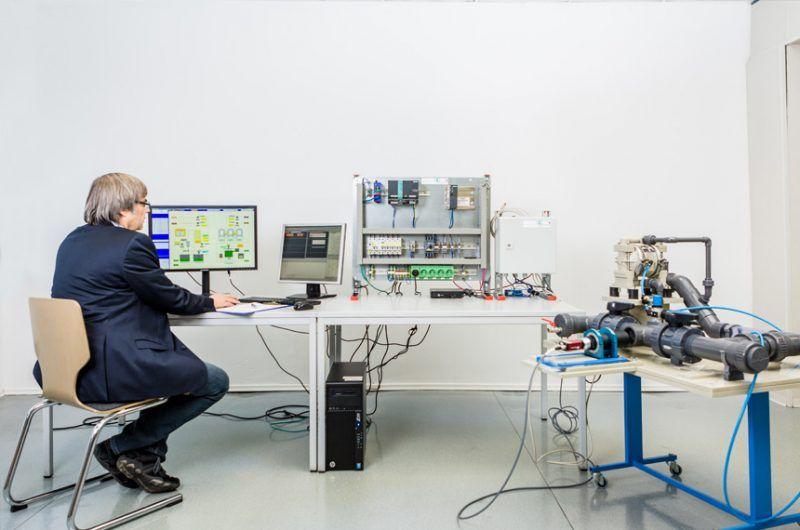 Elektrotechnik zur Abwasserbehandlung